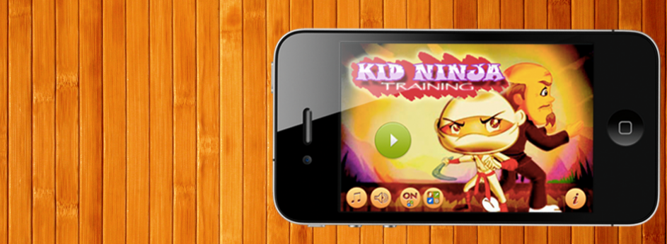 Kid Ninja Training – Dodge Em (iPhone)